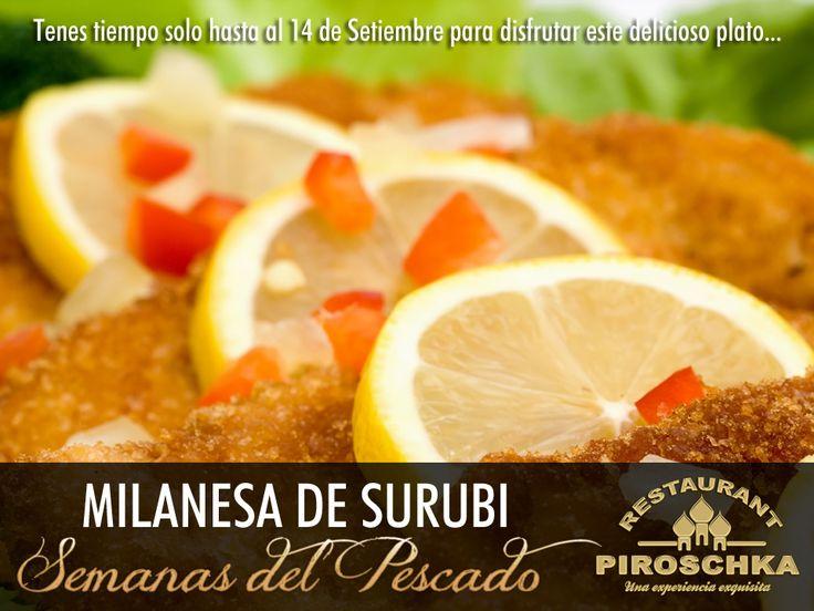 Milanesa de Surubi (Imagen de apoyo)
