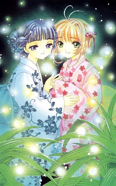 Tags: Anime, CLAMP, Cardcaptor Sakura, Kinomoto Sakura, Daidouji Tomoyo