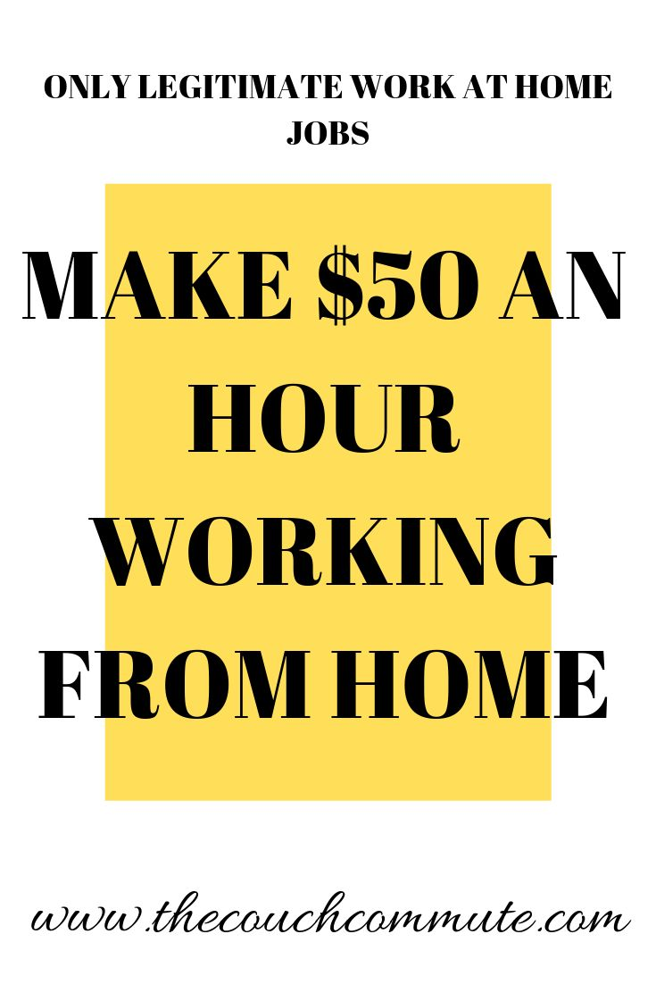 Make 50 an Hour at Home – Make Money Online and From Home