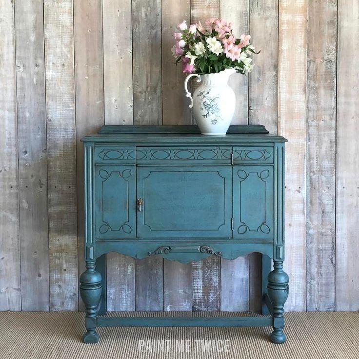 Hutch Makeover Chalk Paint Color Combos