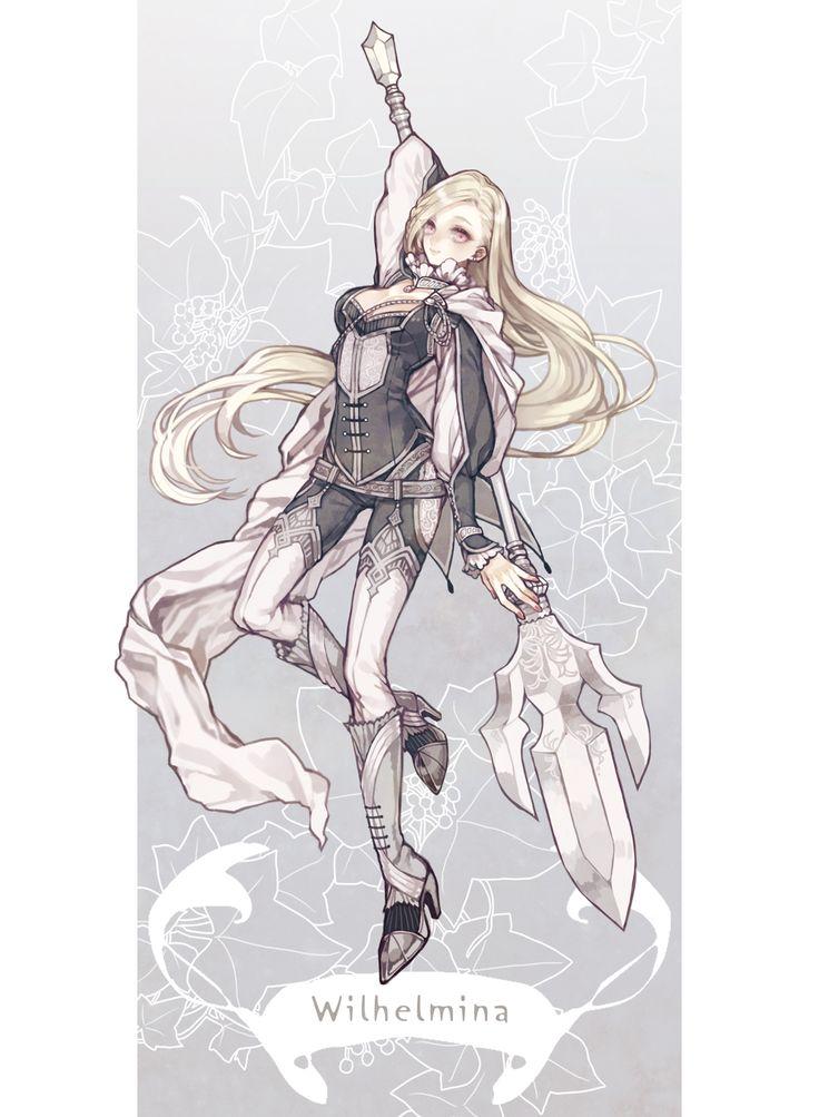 【太陽と月】ヴィルヘルミナ【騎士】