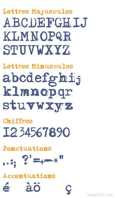 typo machine à écrire