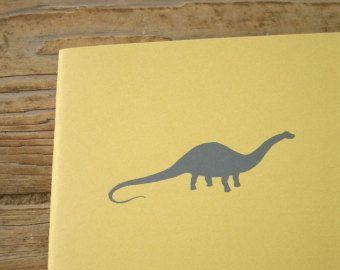 Dinosaur Notebook - Apatosaurus (Brontosaurus) Cahier