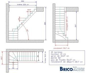 Comment Dessiner Un Escalier 1 4 Tournant Prefabricated Buildings