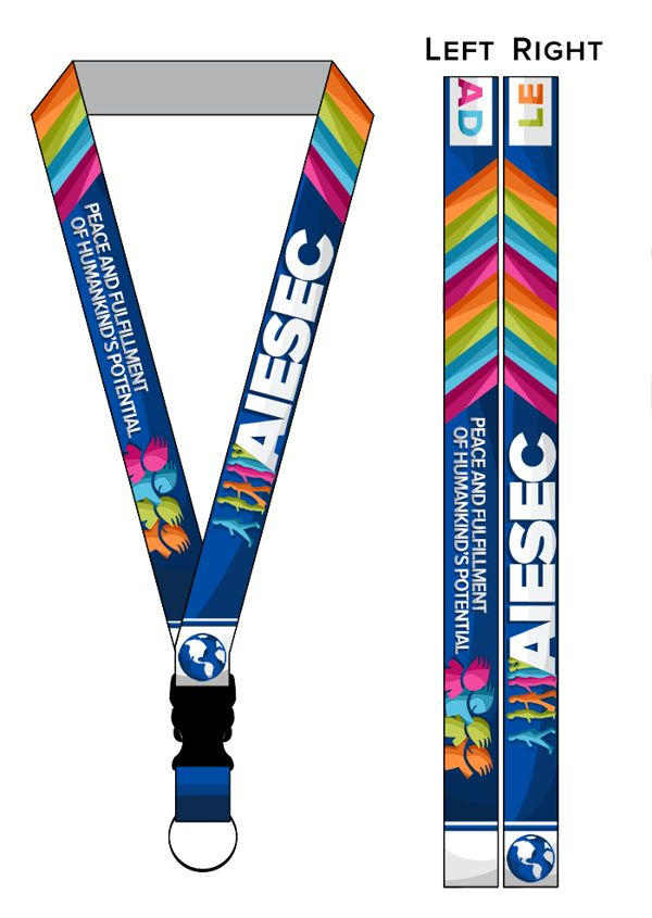 AIESEC-Lanyard Design on Behance