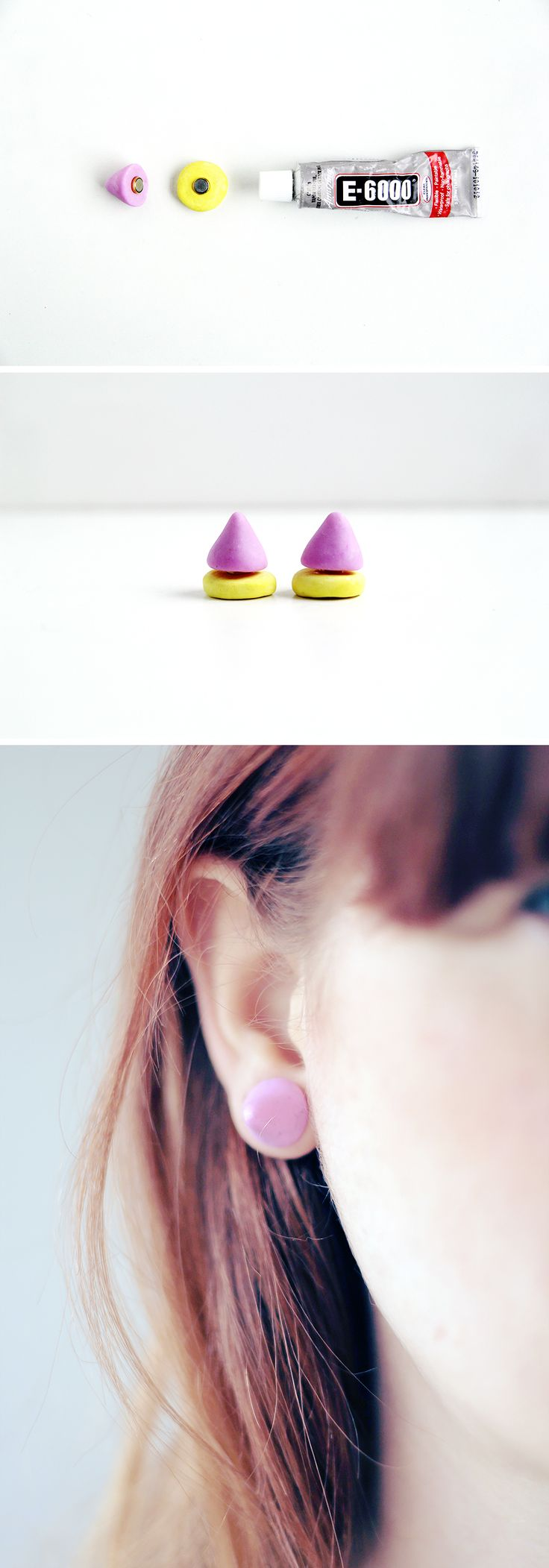 Diy Givenchy Inspired Magnetic Earrings