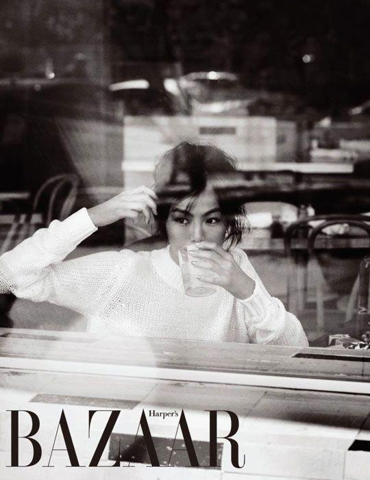 Harper's Bazaar Korea features Kim Min Hee in May 2012 issue
