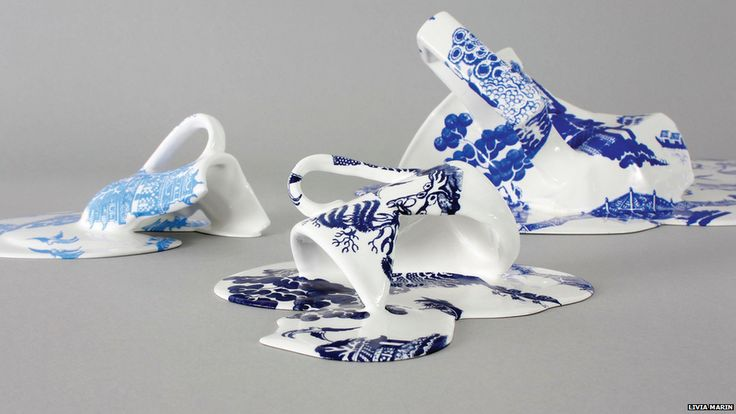 PINTA, the UK's only Latin American art show, has opened in Earl's Court in London. Untitled by Livia Marin, which appears to show crockery melting, is one of hundreds of artworks on display.