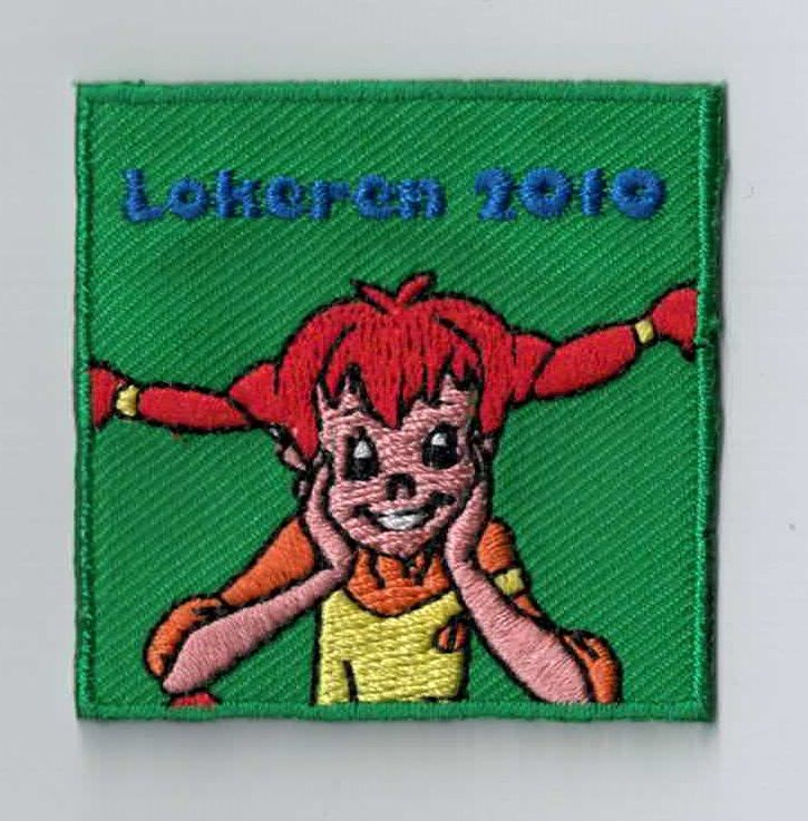 Do you know Pippi Langkous? This patch is so funny :-) Every youth movement should have a patch like this as a camp memory. You can simply sew or iron it on your uniform. Upload your own design on ibadge.com!