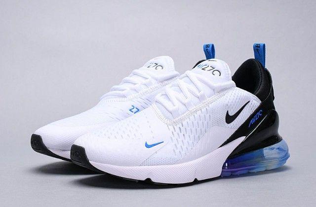 Herren Damen Winter Nike Air Max 270 Sneakers Weiß schwarz ...
