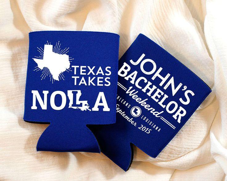 New to SipHipHooray on Etsy: Bachelor Party Favors NOLA Bachelor Party Guys Trip Favors NOLA Texas Bachelor Party Favors Grooms Trip Favors Groomsmen Gifts 1187 (75.00 USD)