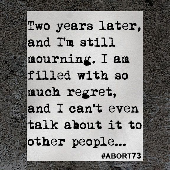 This abortion story came to Abort73 through our online submission form and was received from South Africa on April 23, 2017.
