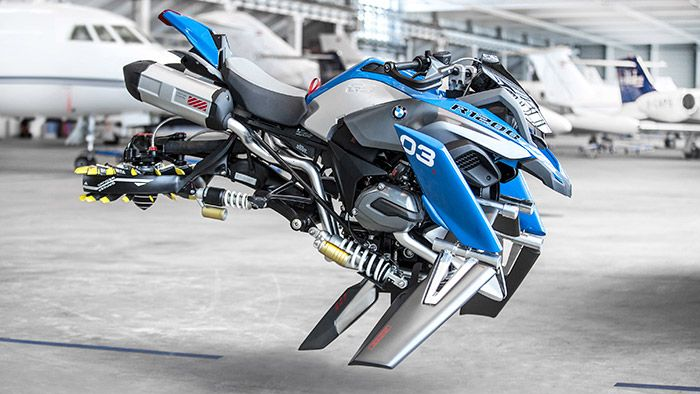 BMW Motorrad a LEGO představili koncept vznášedla