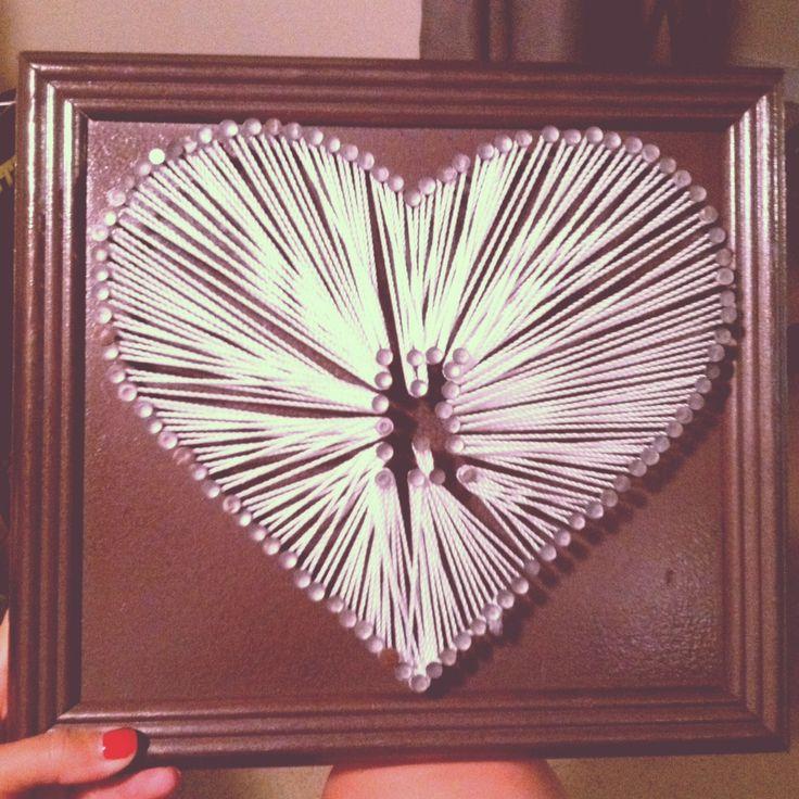 diy string heart 78 best string art images on pinterest diy string art string