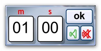A simple countdown stopwatch for Interactive Whiteboards and smartboard. Maximum countdown of 99 minutes and 59 seconds.  A number of audio warning...