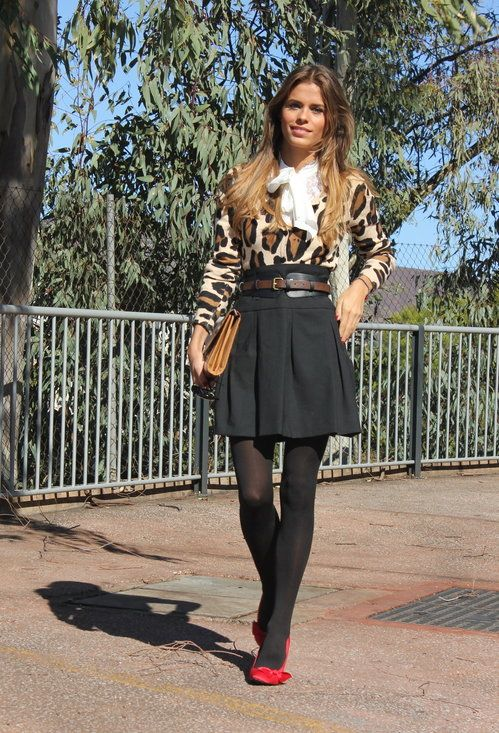 44b25f6c3b 32 Street Style Look With Leopard Print Details