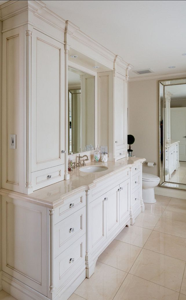 25 best ideas about cream colored cabinets on pinterest - Type of paint for bathroom cabinets ...