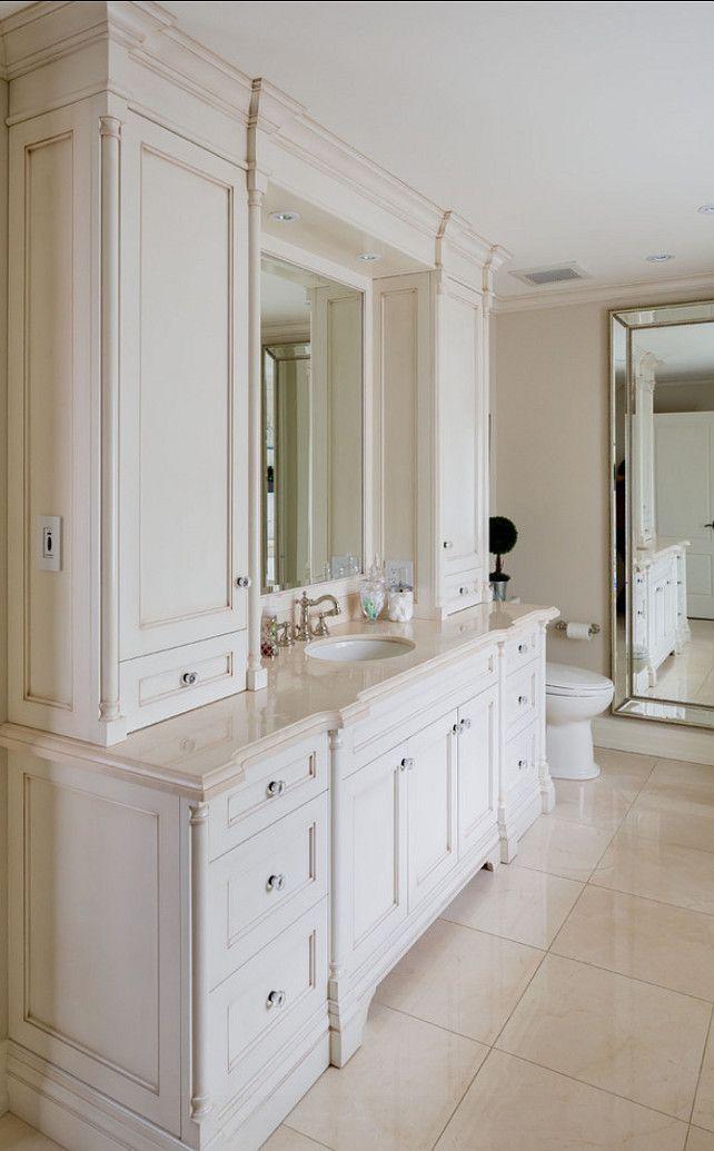 Bathroom cabinet Design Ideas. Fantastic bathroom design ideas! #Bathroom #BathroomDesign #Cabinet