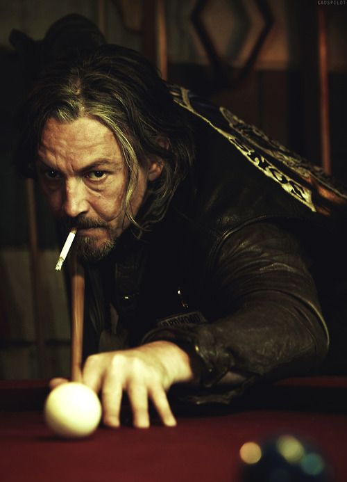 Tommy Flanagan as Chibs on Sons of Anarchy.  My favorite character....
