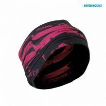 Повязка на голову Head Wrap,  Black/Pink