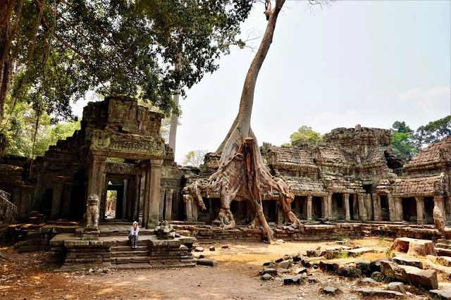 The Angkor Temples in Cambodia