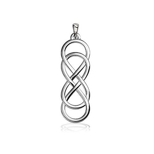 Double Infinity Symbol, I have seriously been looking for this symbol in a necklace FOREVER.