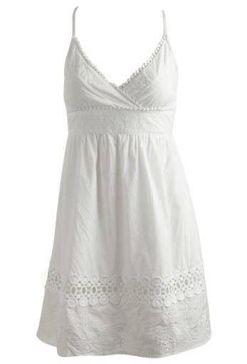 White Bridal Shower Dress