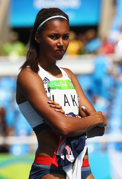 Morgan Lake of Great Britain competes in Women's High Jump Qualifying on Day 13…