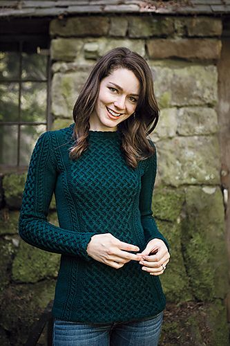 Ravelry: Princess Pullover pattern by Kerin Dimeler-Laurence
