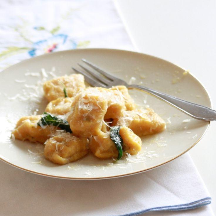 gnocchi van polenta en pompoen: op en top Italiaanse klasse met een hersfttintje #naareigensmaak