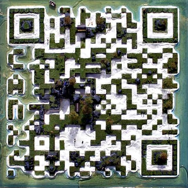 QR code island