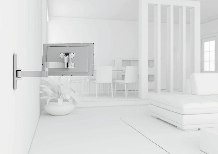vogel´s® TV-Wandhalterung »WALL 2045« schwenkbar, für 43-66 cm (17-26 Zoll) Fernseher, VESA 100x100 Jetzt bestellen unter: https://moebel.ladendirekt.de/wohnzimmer/tv-hifi-moebel/tv-halterungen/?uid=f07cf571-d43b-5ffe-870e-d68d094d2be9&utm_source=pinterest&utm_medium=pin&utm_campaign=boards #tvhalterungen #wohnzimmer #halterungen #tvhifimoebel