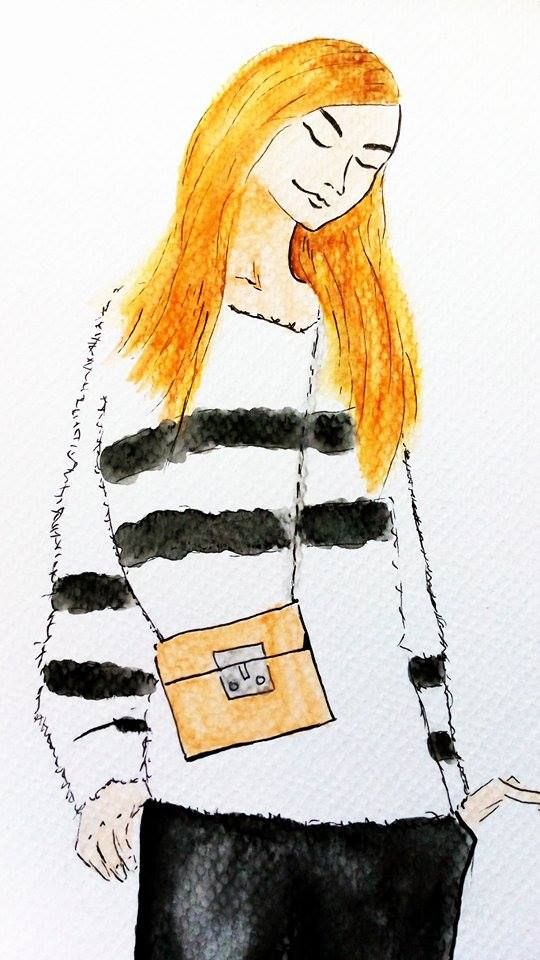 free minded @cleanmag #bloggerdrawing