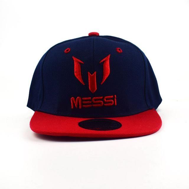 c59bf5699f1508 High Quality Football cap MESSI Baseball Caps Boys Girls Kids Children hat  Adjust Soccer Messi Snapback Hip Hop Hat | Products | Football caps, Kids  hats, ...