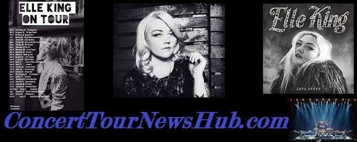 Updated Elle King 2015 North American Tour Schedule - Updated @ElleKingMusic #MusicNews #TourSchedule
