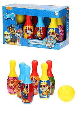 Paw Patrol Bowling Set Kids Childrens Indoor Outdoor Skittes Pin Ball Game Toys | Garden Games & Activities | Outdoor Toys & Activities - Zeppy.io