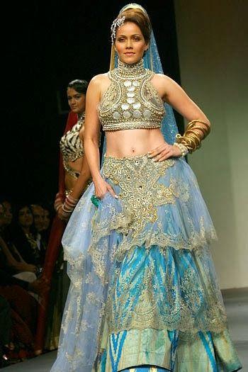 #RituBeri #Designer Blue #Lehenga