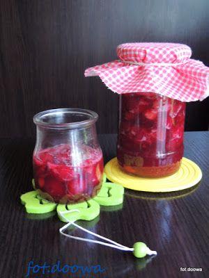 Moje Małe Czarowanie: Szybki dżem z wiśni