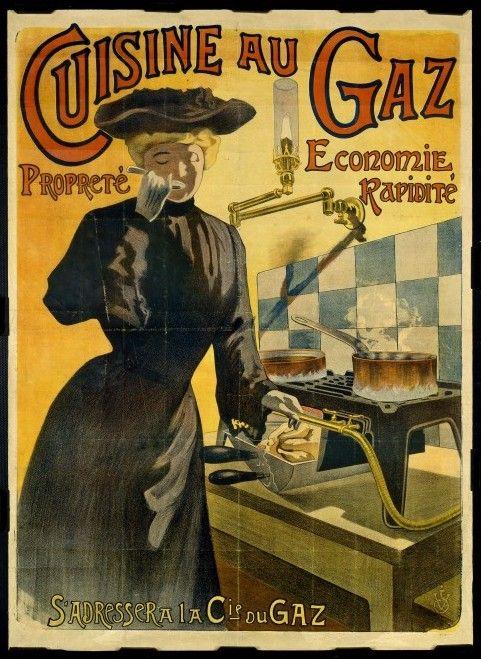 Les 33 meilleures images du tableau gdb for Affiche cuisine retro