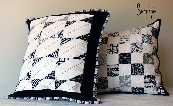 Seraphym Handmade: Tilted Bows Block Tutorial