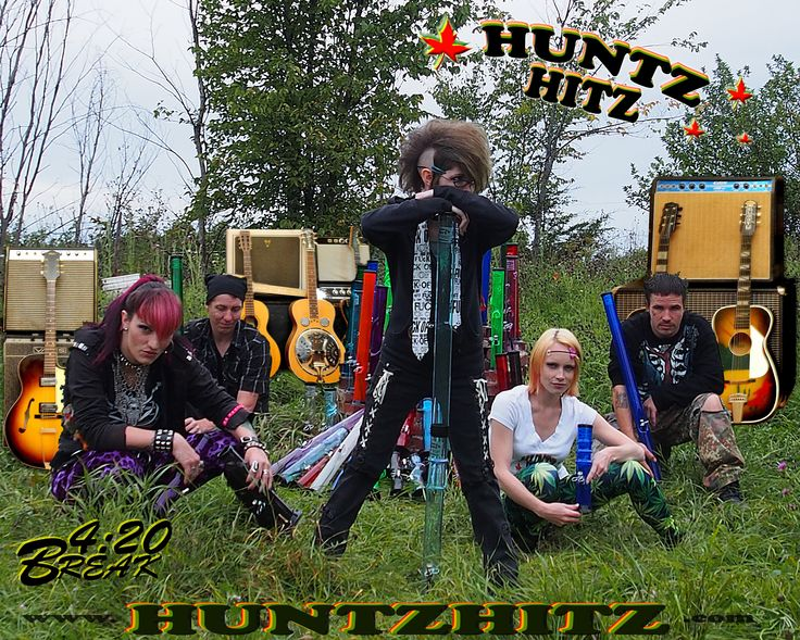 The 'Huntz Hitz Band' Taking a 420 break!
