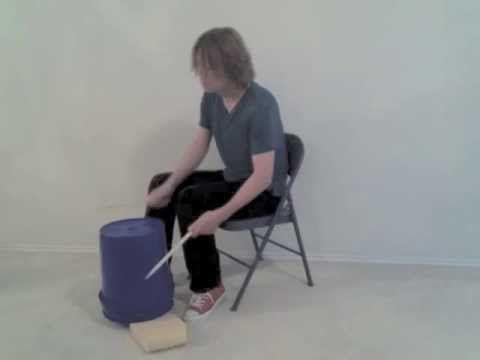 Bucket Drumming Basics. Mark Shelton. Elementary bucket drumming techniques