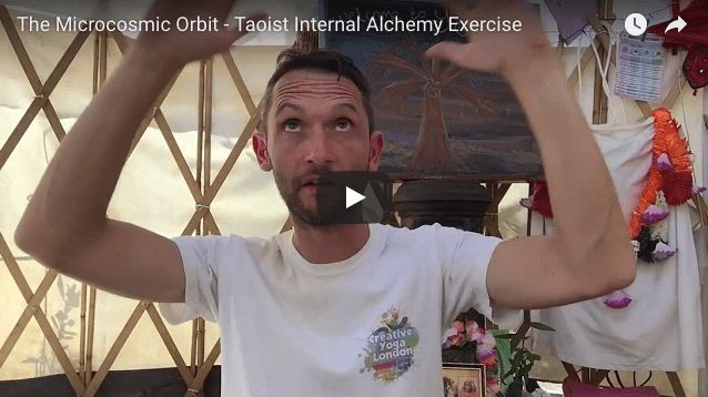 The Microcosmic Orbit - https://www.creativewellness.co.uk/microcosmic-orbit-blog/ - The Microcosmic Orbit is a Taoist internal energetic alchemy exercise – essentially it helps to balance your main Yin and Yang energy channels (meridians) within the body, which harmonises both your ability to move into action, and ability to rest.