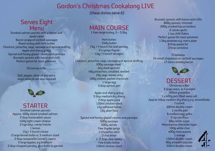 Gordan ramsey christmas menu gorden ramsey pinterest menu gorden ramsey and gordon ramsey - Christmas menu pinterest ...