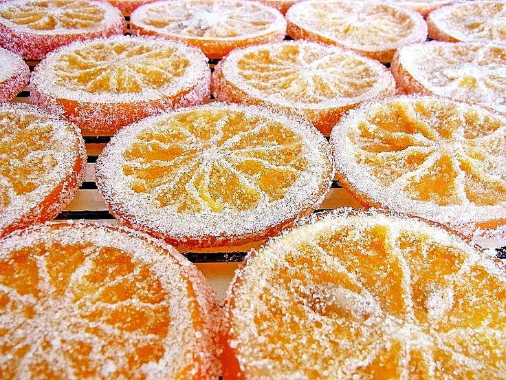 Kandierte Orangen, ein raffiniertes Rezept aus der Kategorie Haltbarmachen. Bewertungen: 19. Durchschnitt: Ø 4,6.
