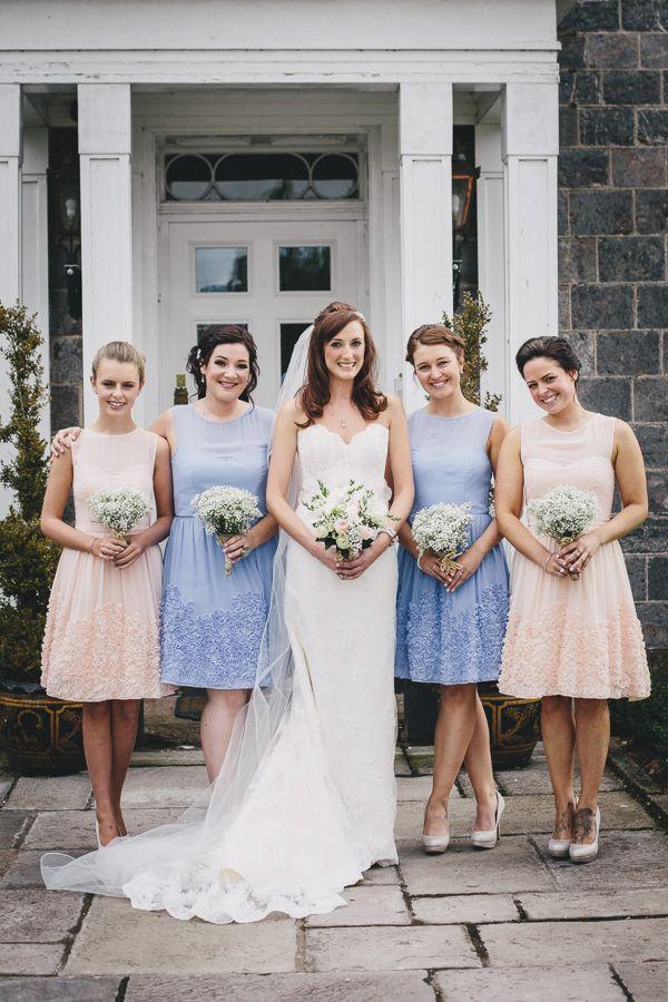 Wedding Pastel Bridesmaid Dresses http://www.helenlisk.blogspot.co.uk/