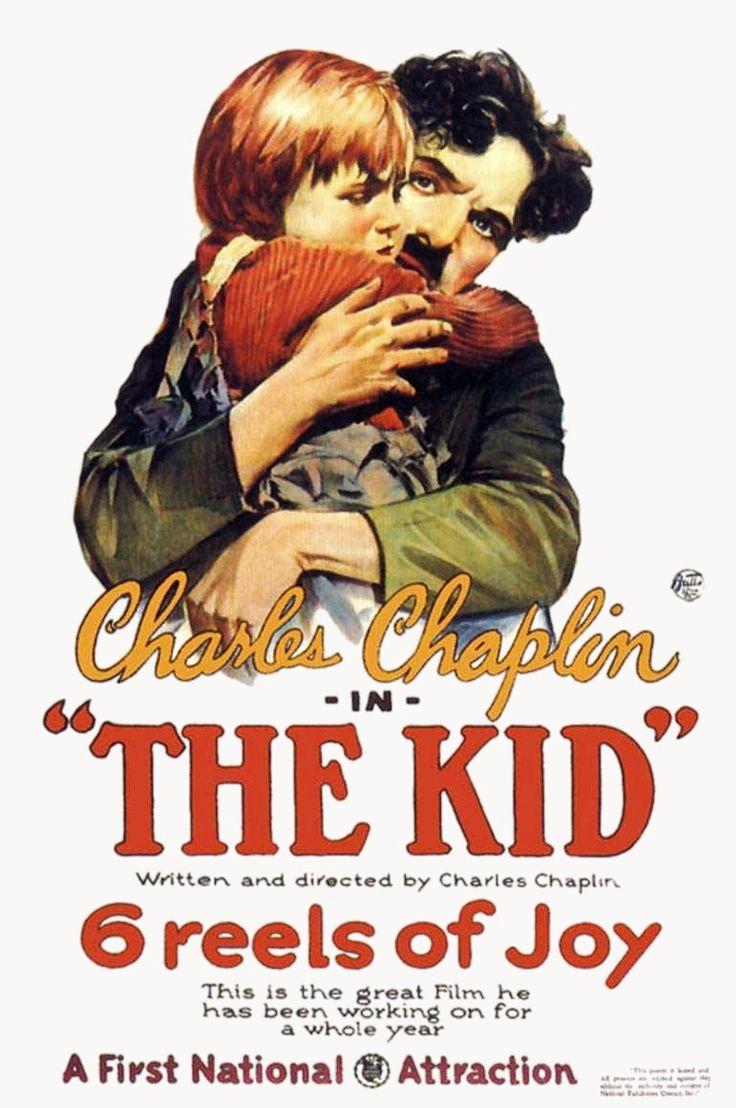 "Film Charlie Chaplin ""The Kid"" (1921)"