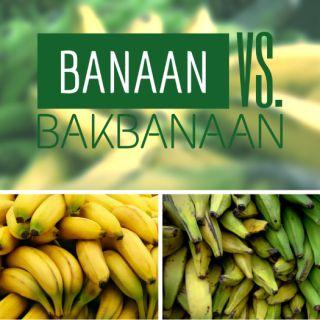 Banaan vs Bakbanaan - EetPaleo
