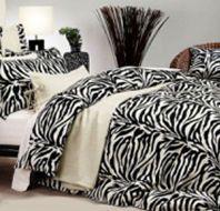 zebra bedroom.