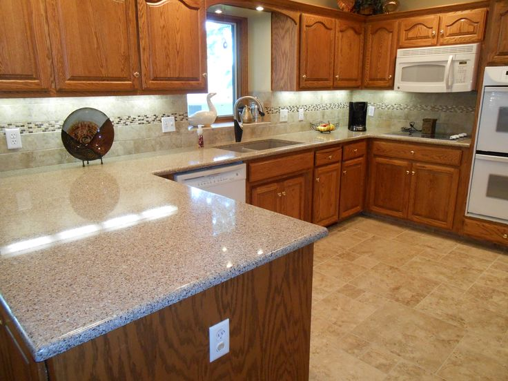 Kitchen Update Includes New Quartz Countertops Porcelain